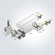 BL-120all 比薩生產線
